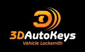 3D Autokeys Logo & Identity Design
