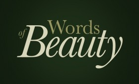 Words of Beauty Typography